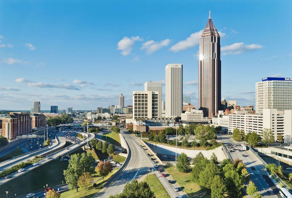 PHOTO: Downtown Atlanta is pictured in this undated stock photo.