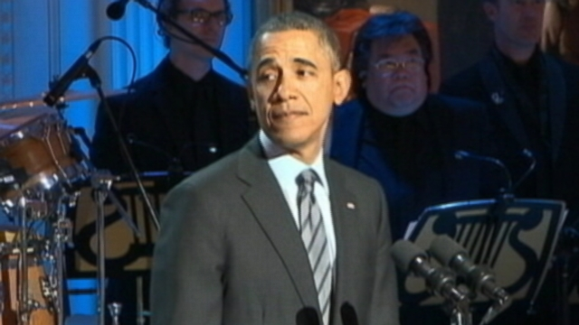 Oops - Obama Shares His 'R-S-P-E-C-T' for the 'Women of Soul'