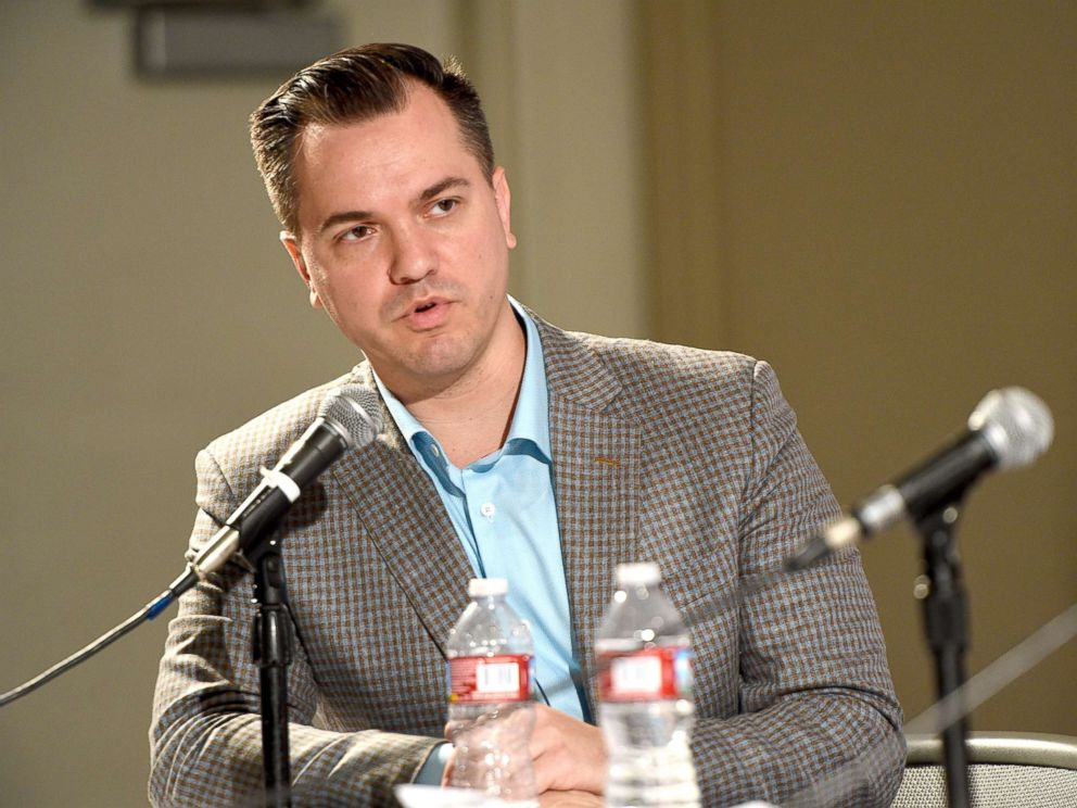 PHOTO: Austin Petersen at the HuffPosts: So That Happened panel during Politicon at Pasadena Convention Center, July 30, 2017, in Pasadena, Calif.