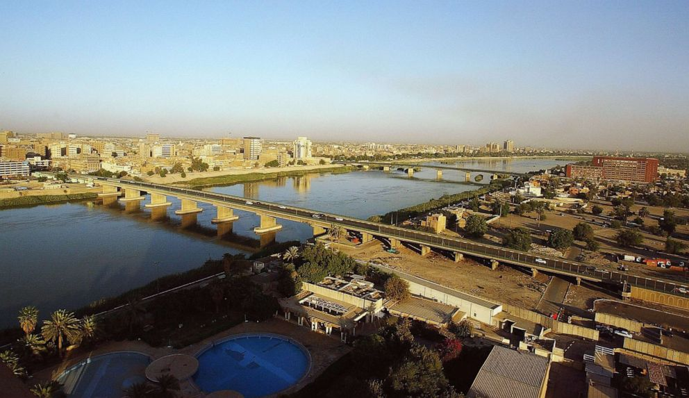 PHOTO: The Tigris River and the skyline of Baghdad, Iraq, Sept. 21, 2006.