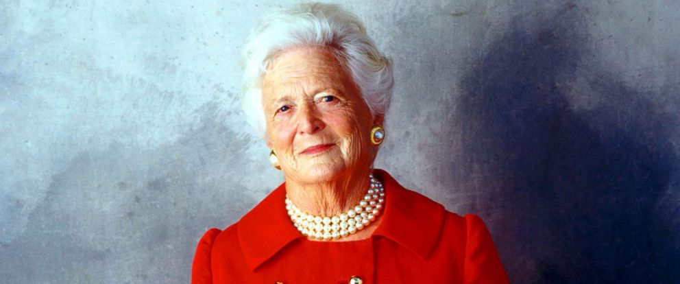 PHOTO: Former First Lady Barbara Bush is seen on Aug. 23, 2001 in Houston.