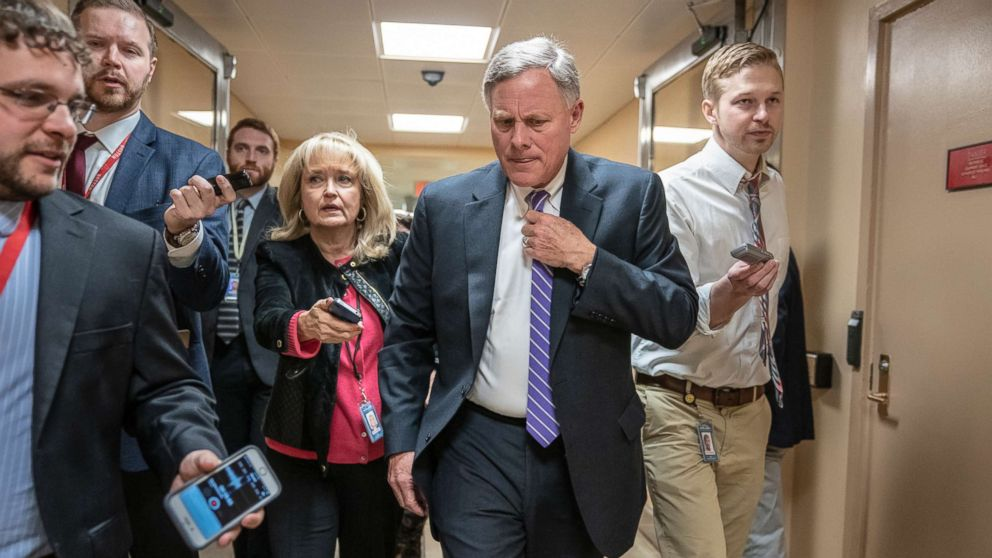 Senate Intelligence Committee Chair Richard Burr insists on face-to-face meeting with Christopher Steele to discuss dossier, Russia investigation