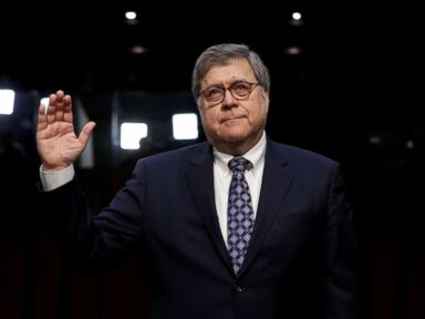 William Barr insists 'I will not be bullied' at confirmation hearing