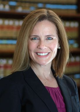 PHOTO: Judge Amy Coney Barrett in an undated file photo.