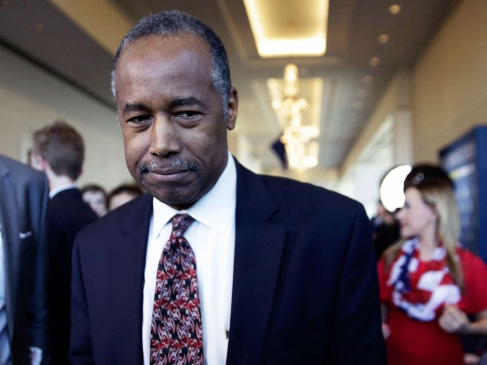 PHOTO: Secretary of Housing and Urban Development Ben Carson attends the Conservative Political Action Conference (CPAC), Feb. 28, 2019 in National Harbor, Md.