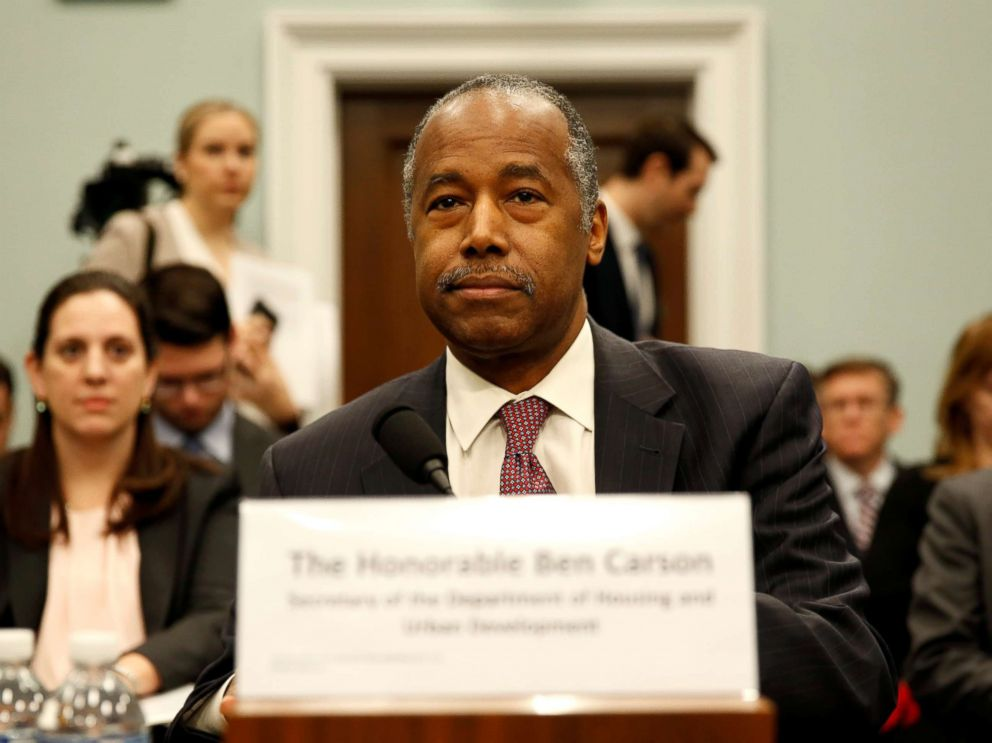 HUD Secretary Carson's Job in Question at White House