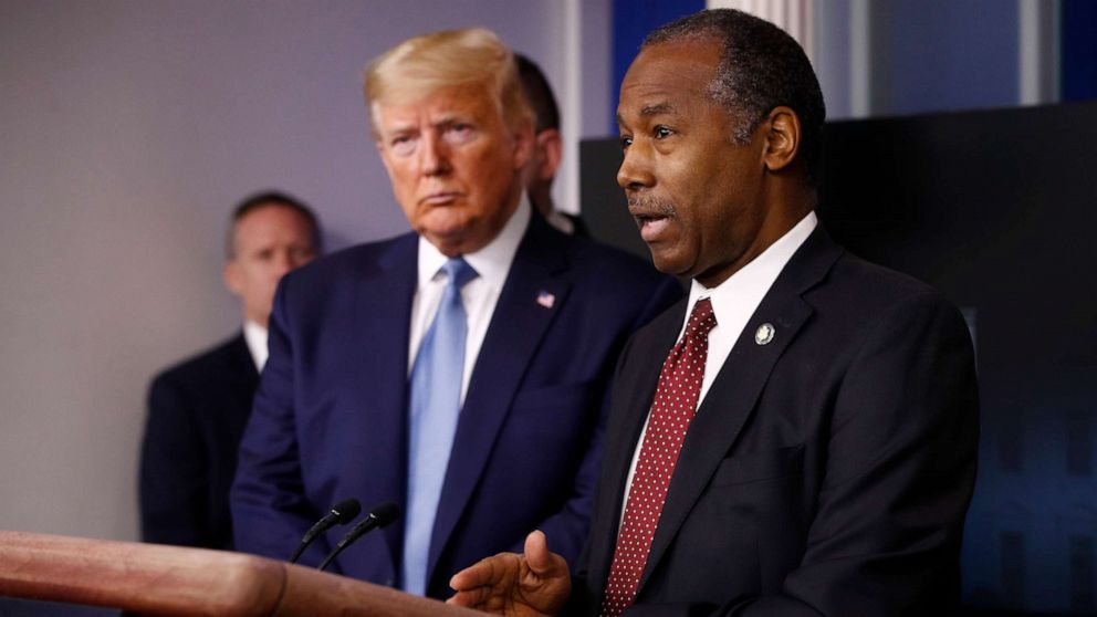 Carson declines to back Trump's claim on being best president for African Americans since Lincoln
