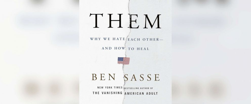 "PHOTO: The book cover for Ben Sasses ""Them: Why We Hate Each Other--and How to Heal""is pictured here."