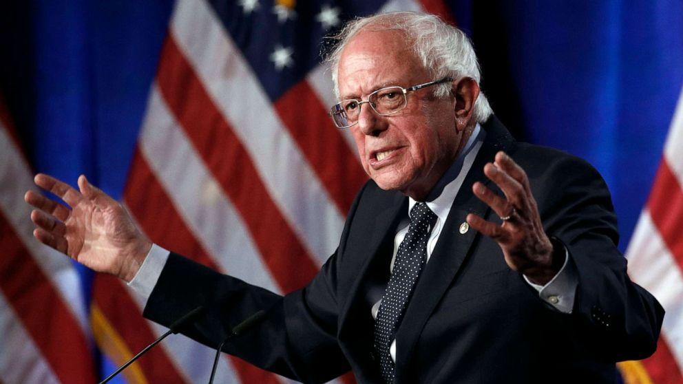 Bernie Sanders draws contrast with Elizabeth Warren: 'She is a capitalist through her bones. I'm not.' thumbnail