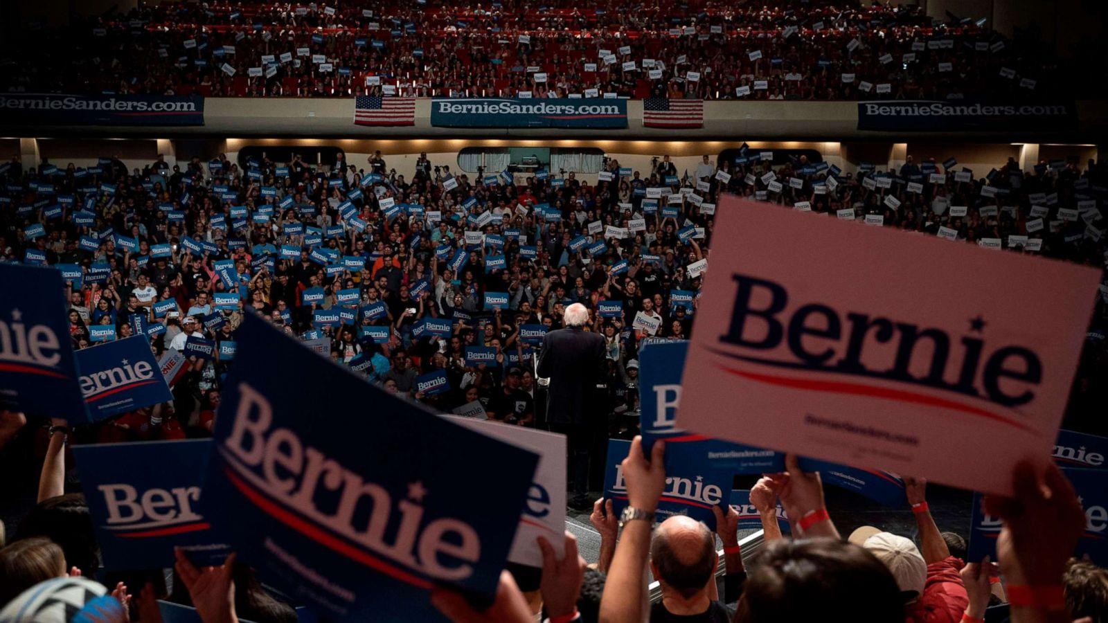 Bernie Sanders Official Rally Placard 2020 Presidential Campaign Sign Socialist