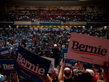 WATCH:  Bernie Sanders projected to win Nevada caucus