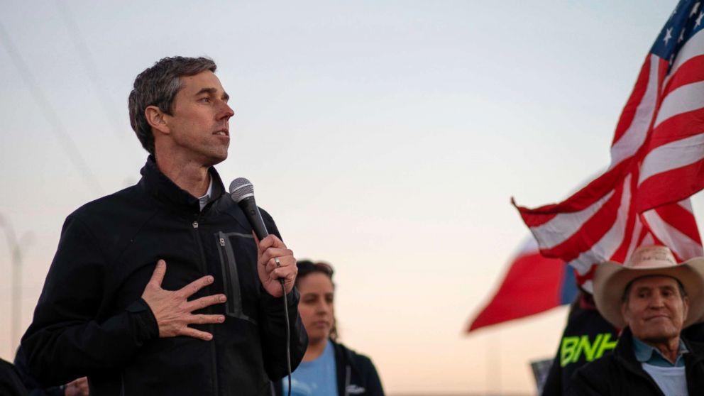Former Texas Congressman Beto O'Rourke announces 2020 presidential bid