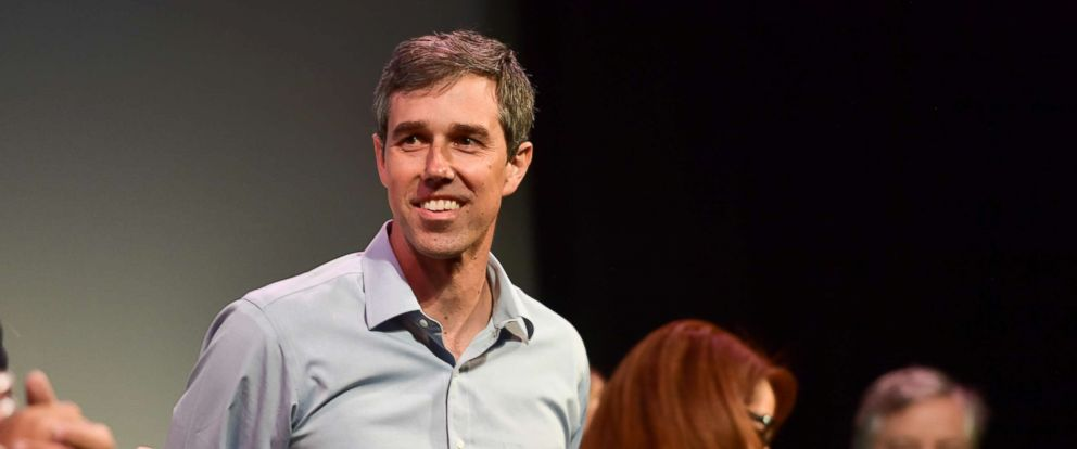 """PHOTO: Beto ORourke attends the """"Running with Beto"""" Premiere 2019 SXSW Conference and Festivals at Paramount Theatre, March 9, 2019, in Austin, Texas."""