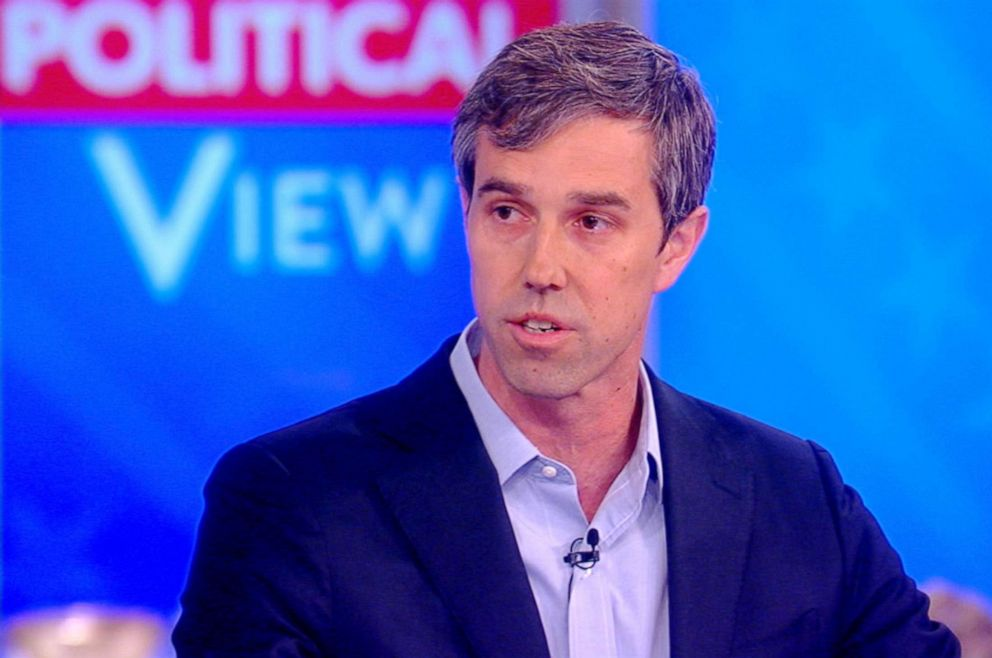 PHOTO: Beto ORourke appears on The View, May 14, 2019.