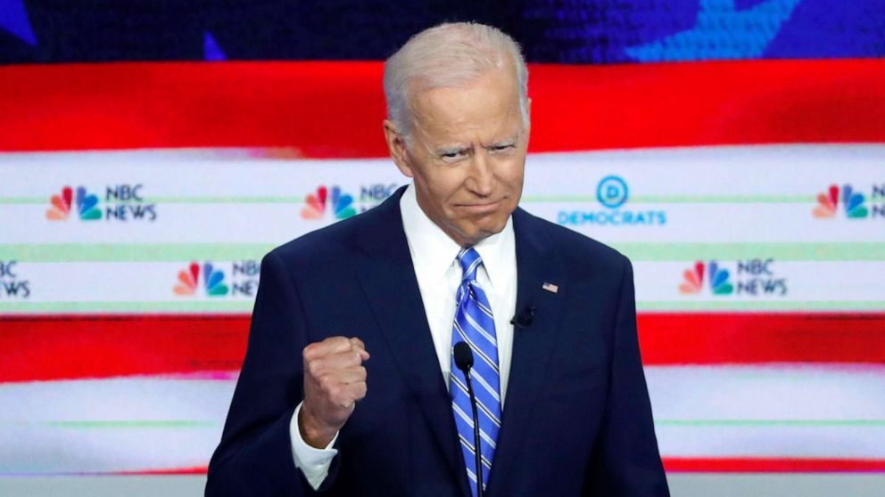 Harris scores in debate performance while electability keeps Biden in front