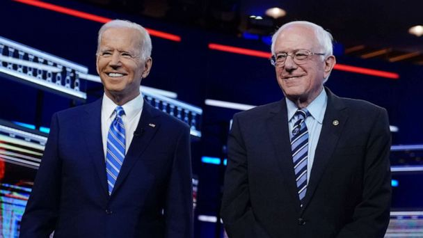The Note: Biden, Sanders spar on health care and party identity
