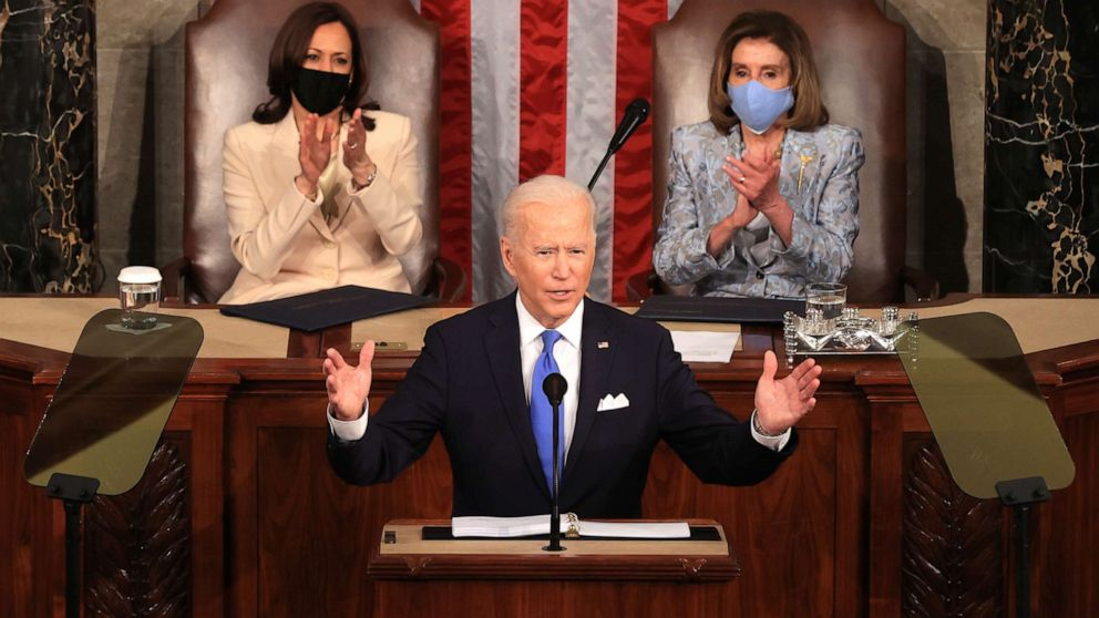 Key takeaways from Biden's 1st address to a joint session of Congress - ABC  News