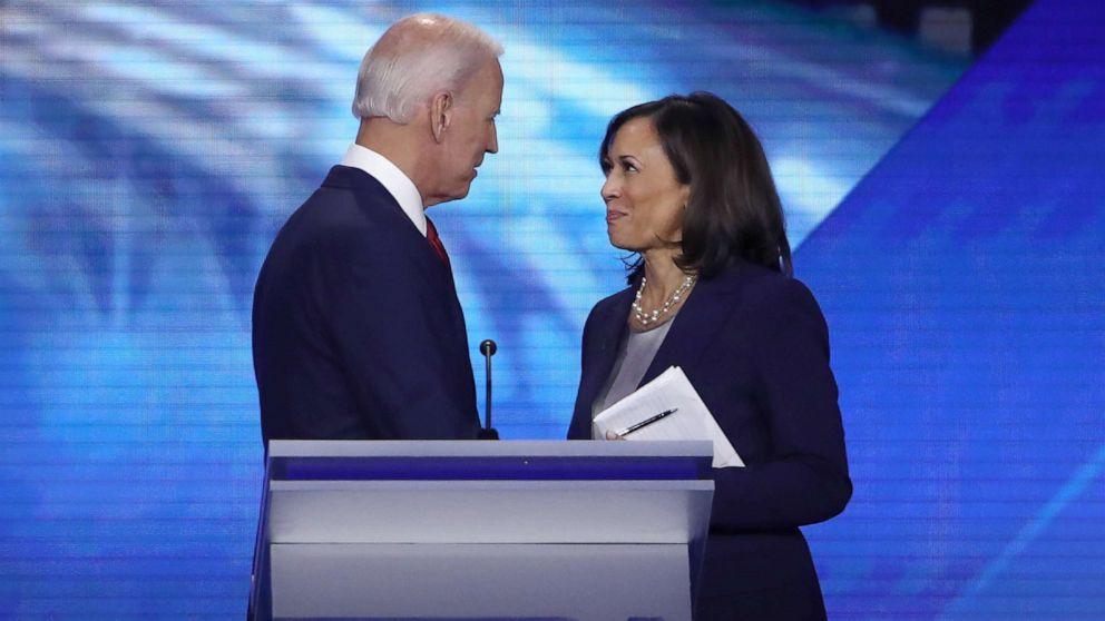 Joe Biden /& Kamala Harris Blue President and Vice President