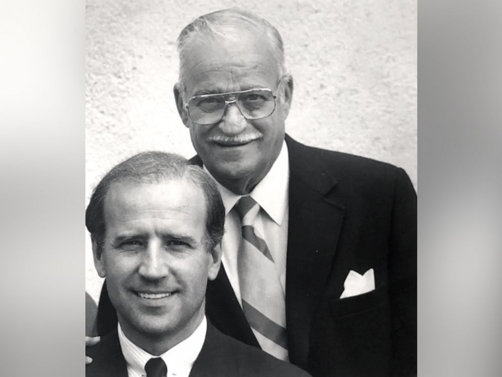 PHOTO: Former Vice President Joe Biden with his dad, Joseph, in an undated photo.