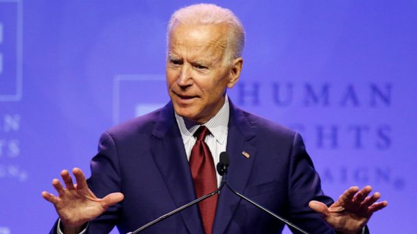 Joe Biden calls Trump administration 'disaster for human rights' at LGBT event marking start of Pride Month