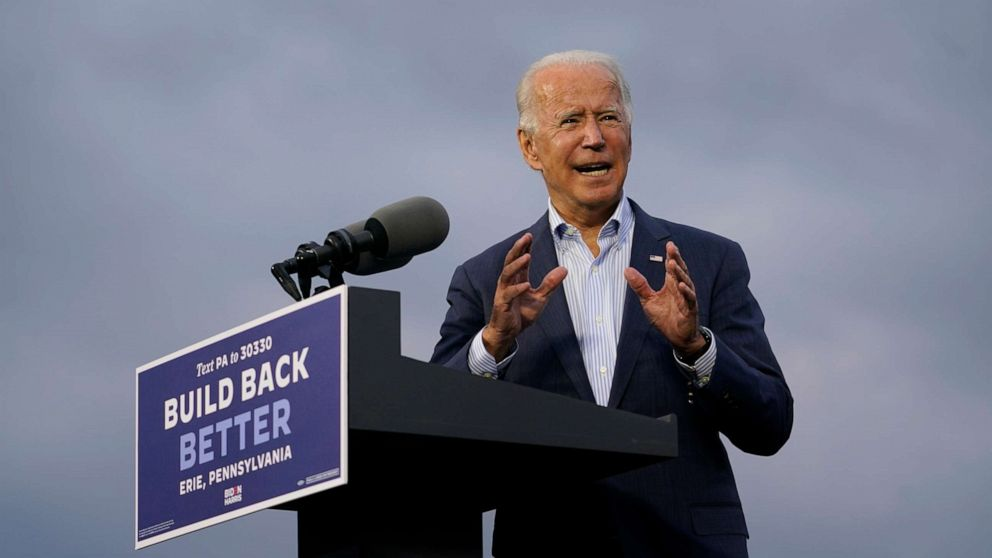 Powered by trust on the pandemic, Biden leads by 12 points nationwide: POLL