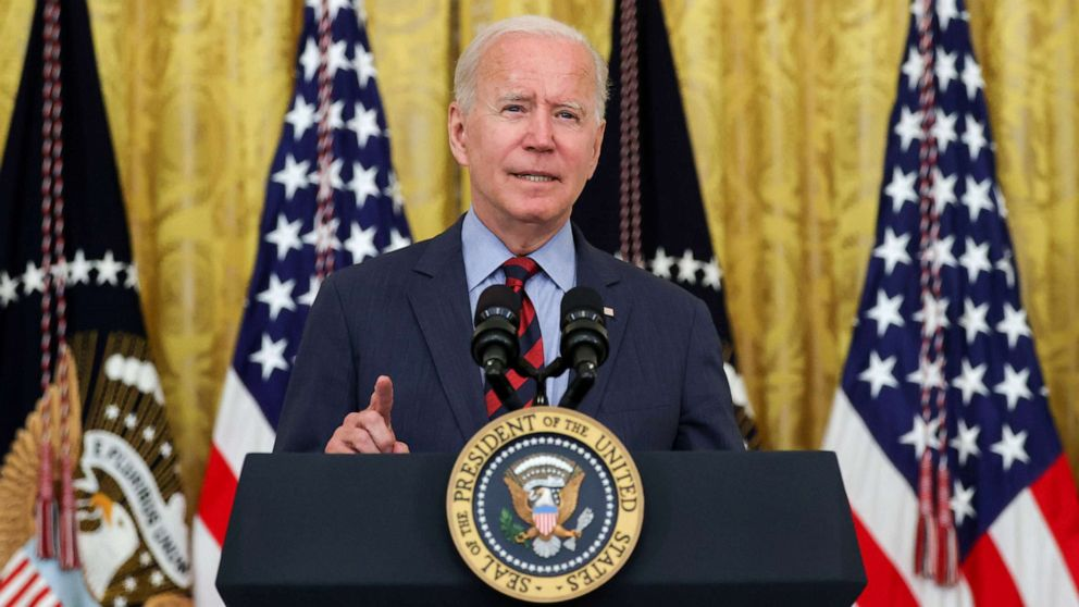Help or 'get out of the way,' Biden says to governors on combatting pandemic