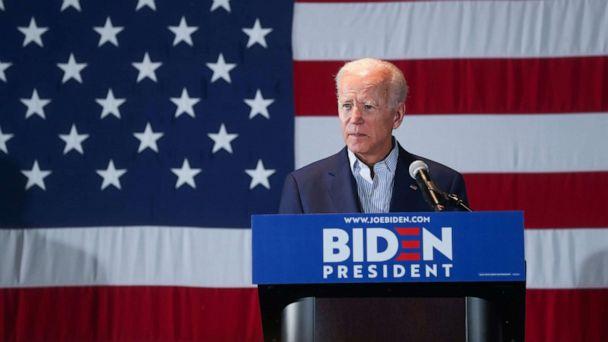 'You folks built the middle class': Joe Biden to Iowa voters