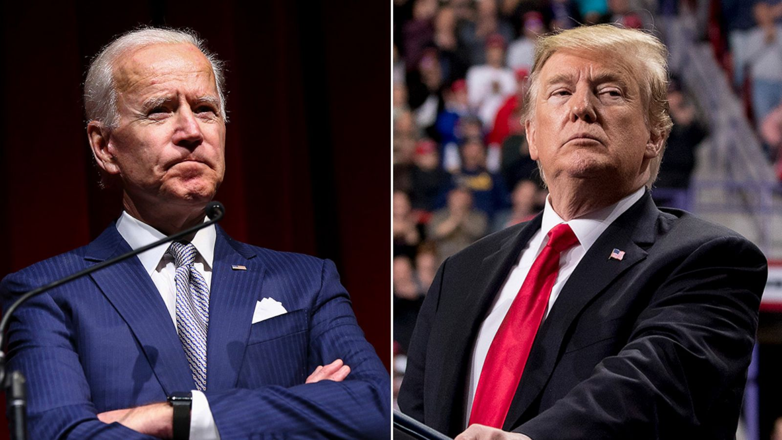 Trump lashes out at Biden as 'the weakest mentally' as both travel ...