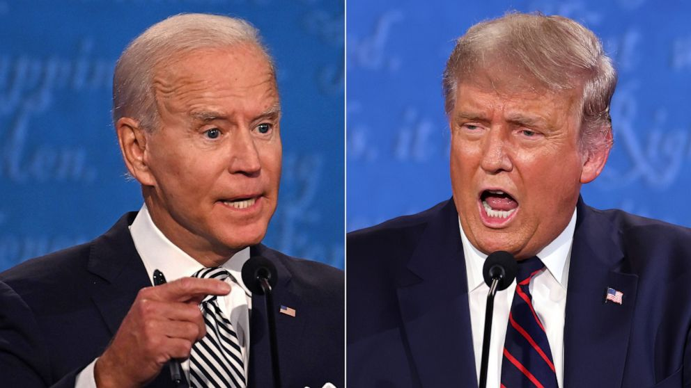 First presidential debate derails into name-calling, personal attacks