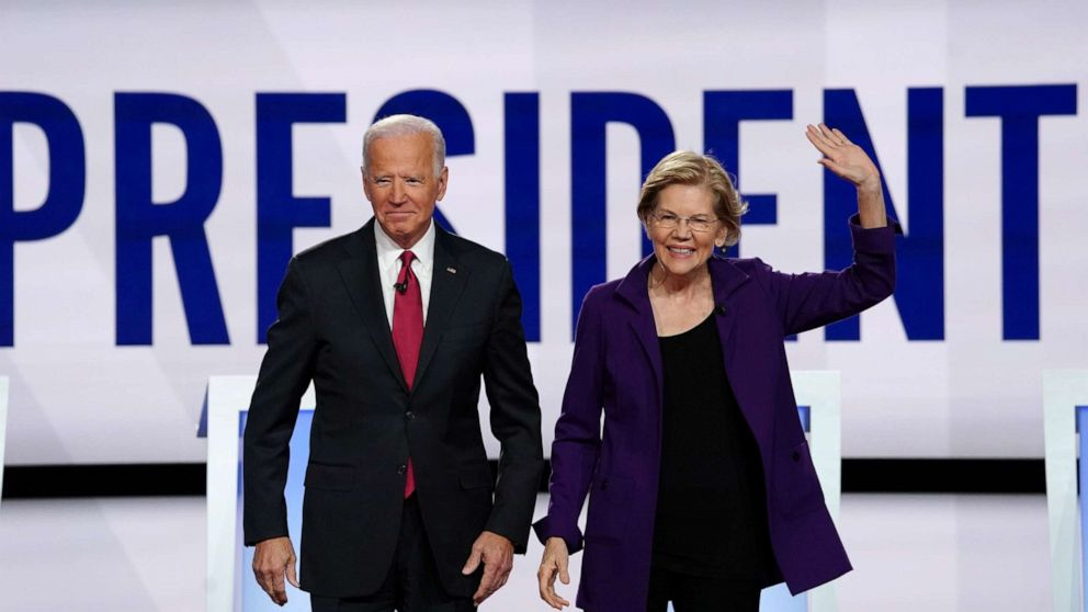 Biden attacks Warren's approach to health care as 'elitism'