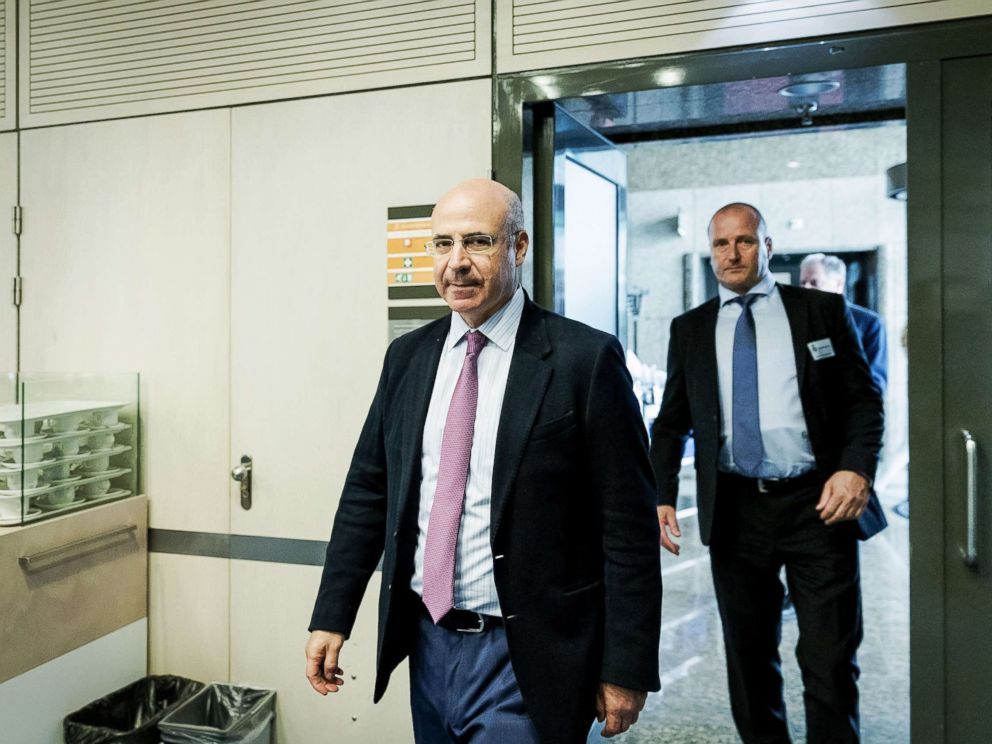 PHOTO: CEO of Hermitage Capital Management Bill Browder walks in the House of Representatives in The Hague on May 23, 2018, where he is to speak on the Magnitsky Act.