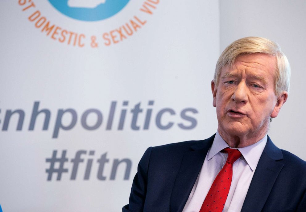 PHOTO: Former Governor Bill Weld campaigns in Concord, New Hampshire, March 26, 2019.