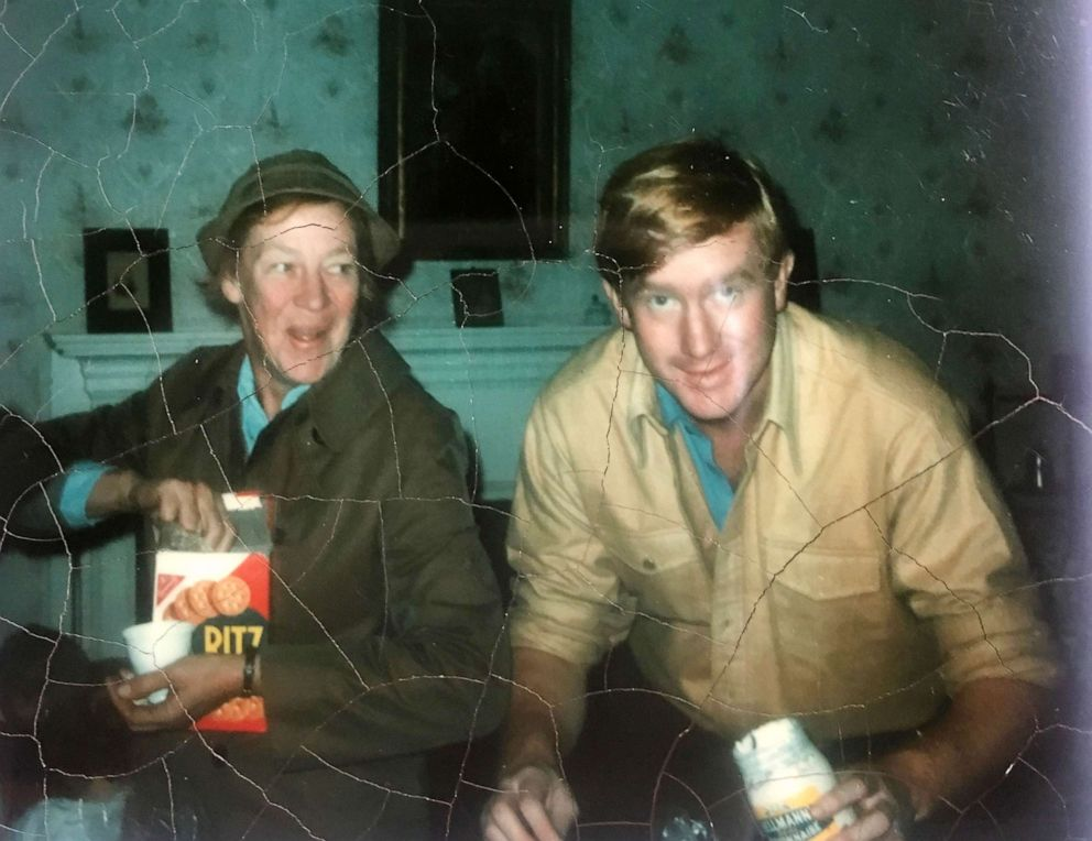 PHOTO: Former Gov. Bill Weld and his mother Mary in an undated photo.