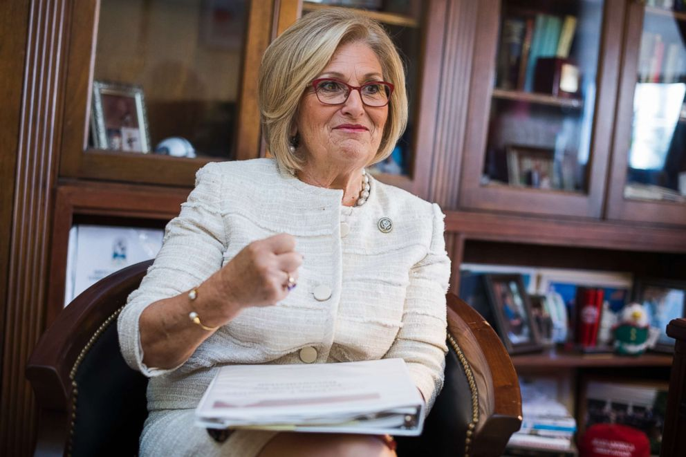 PHOTO:Rep. Diane Black, R-Tenn., chairman of the House Budget Committee, is interviewed in her Longworth Building office, Oct. 3, 2017.