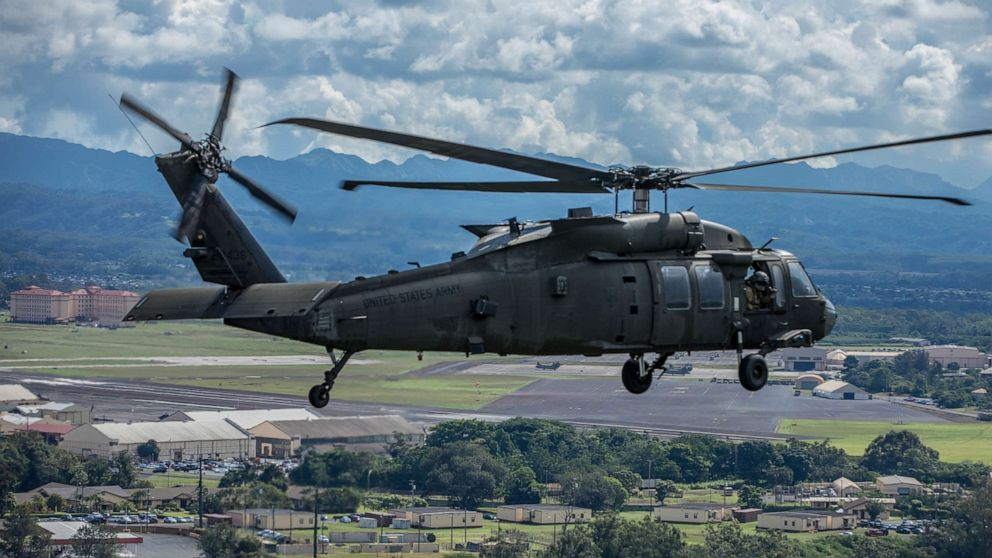 Downed Minnesota National Guard Black Hawk has been found