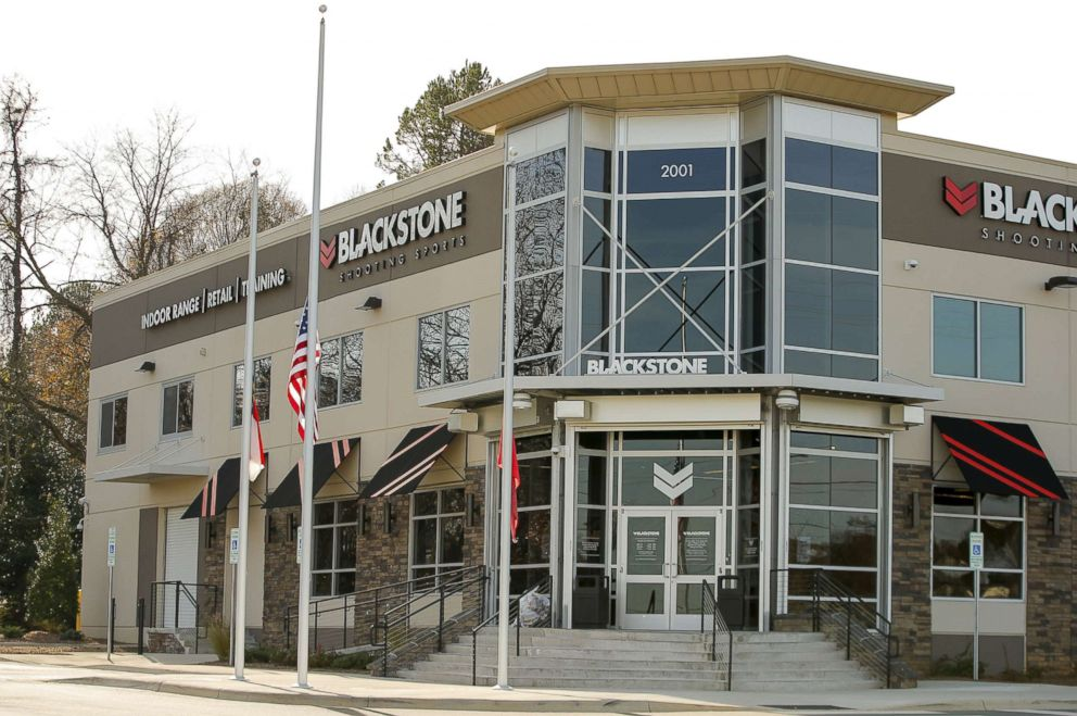 PHOTO: A view of the Blackstone Shooting Sports store in Charlotte, N.C., is pictured Dec. 6, 2015.