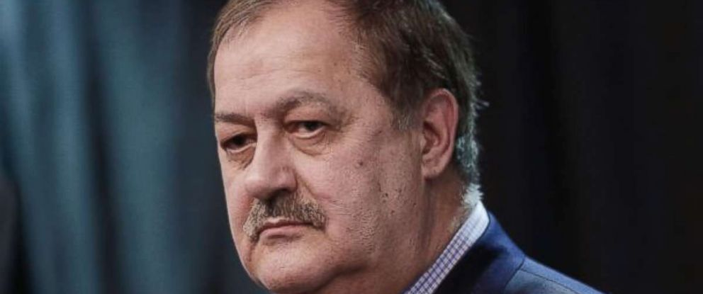 Former Massey Energy CEO Don Blankenship participated in a debate with fellow West Virginia Senate candidates on Tuesday night.