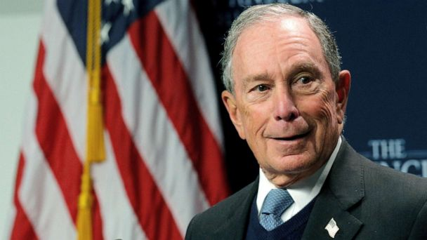 The Note: Bloomberg pits wholesale campaign against retail strategies