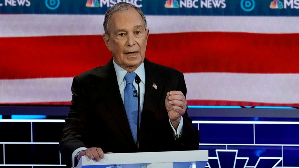 Michael Bloomberg's campaign spent more than $409 million through January
