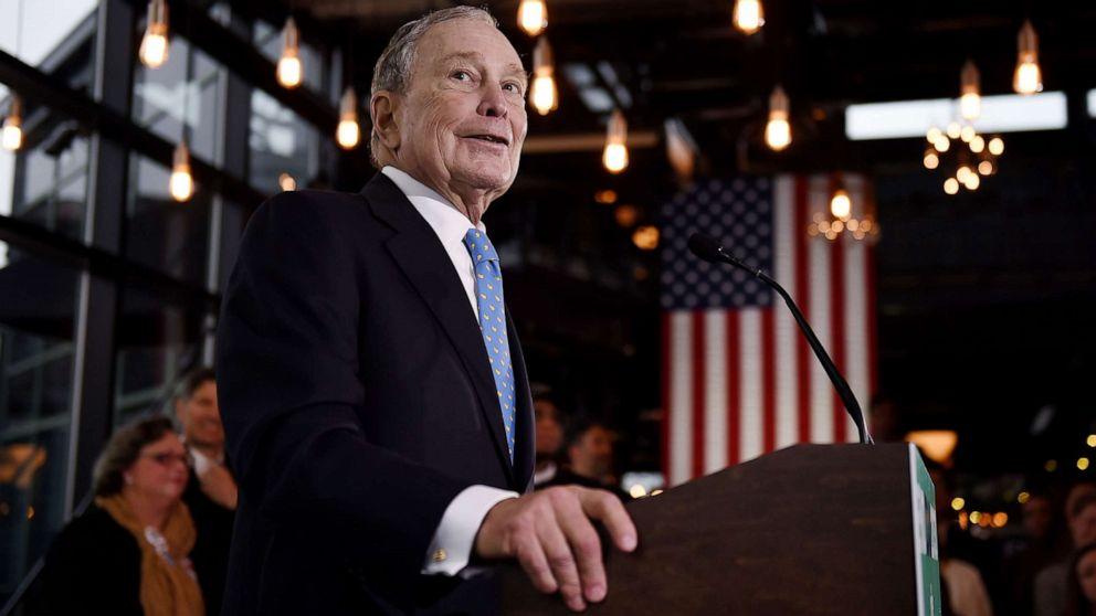 Bloomberg pushing Wall Street execs, mega donors to back DNC fundraising