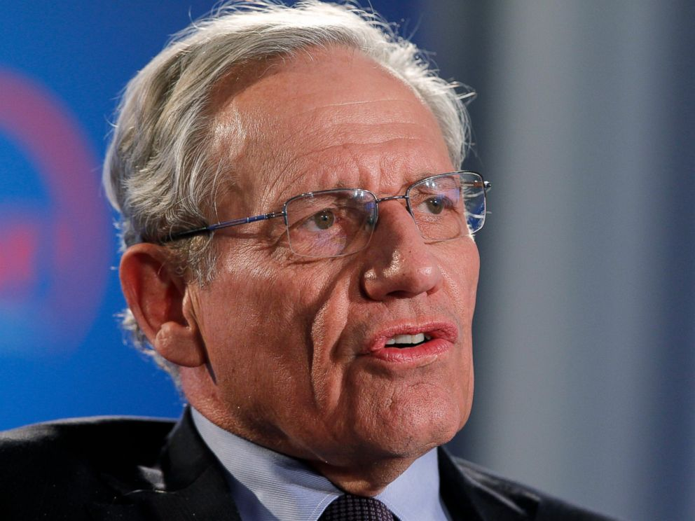 PHOTO: Bob Woodward is set to release a new book on President Donald Trump, titled Fear: Trump in the White House, on Sept. 11, 2018.