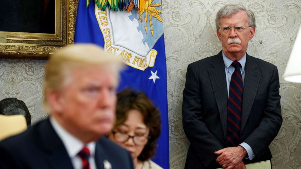 White House odd couple: Trump and Bolton's tumultuous relationship ...
