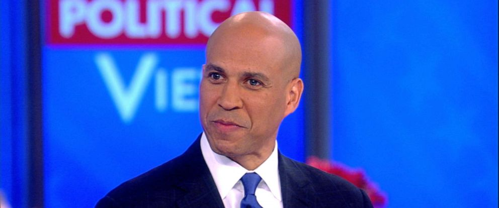 """PHOTO: Sen. Corey Booker appears on """"The View,"""" Oct. 30, 2019."""