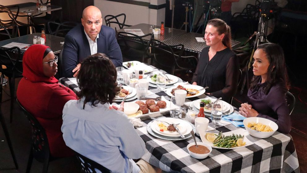 'Around The Table': Sen. Cory Booker talks water crisis, income inequality - ABC News