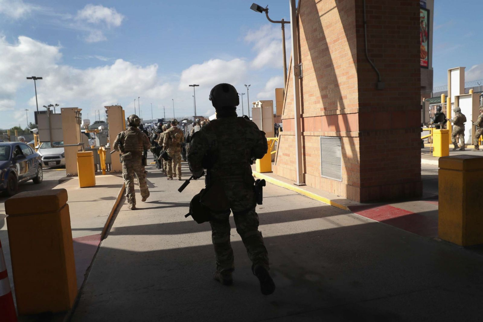US Border Patrol cancels 'crowd control' training exercise near