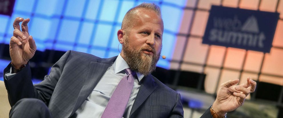 PHOTO: Brad Parscale speaks on the third day of the 7th Web Summit in Lisbon, Portugal, Nov. 8, 2017.