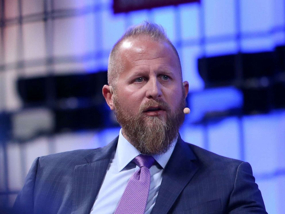 PHOTO: Brad Parscale, Digital Director of the Donald J. Trump Presidential Campaign, speaks at an event in Lisbon, Portugal, Nov. 8, 2017.
