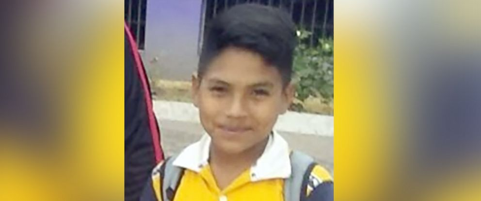 PHOTO: 12-year old Brayan Caceres is in a shelter in Maryland, far from any any relatives, after his family crossed the U.S. border in early May seen here in this undated family photo.