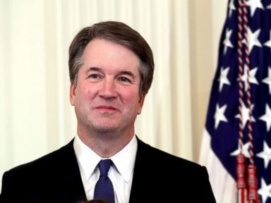 Allegations against Kavanaugh are 'totally political,' Trump says