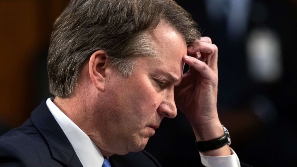 'I'm not going anywhere': Kavanaugh in emotional Fox interview - ABC News